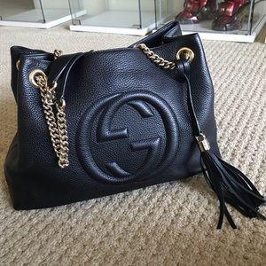 Gucci Soho Double Chain Bag